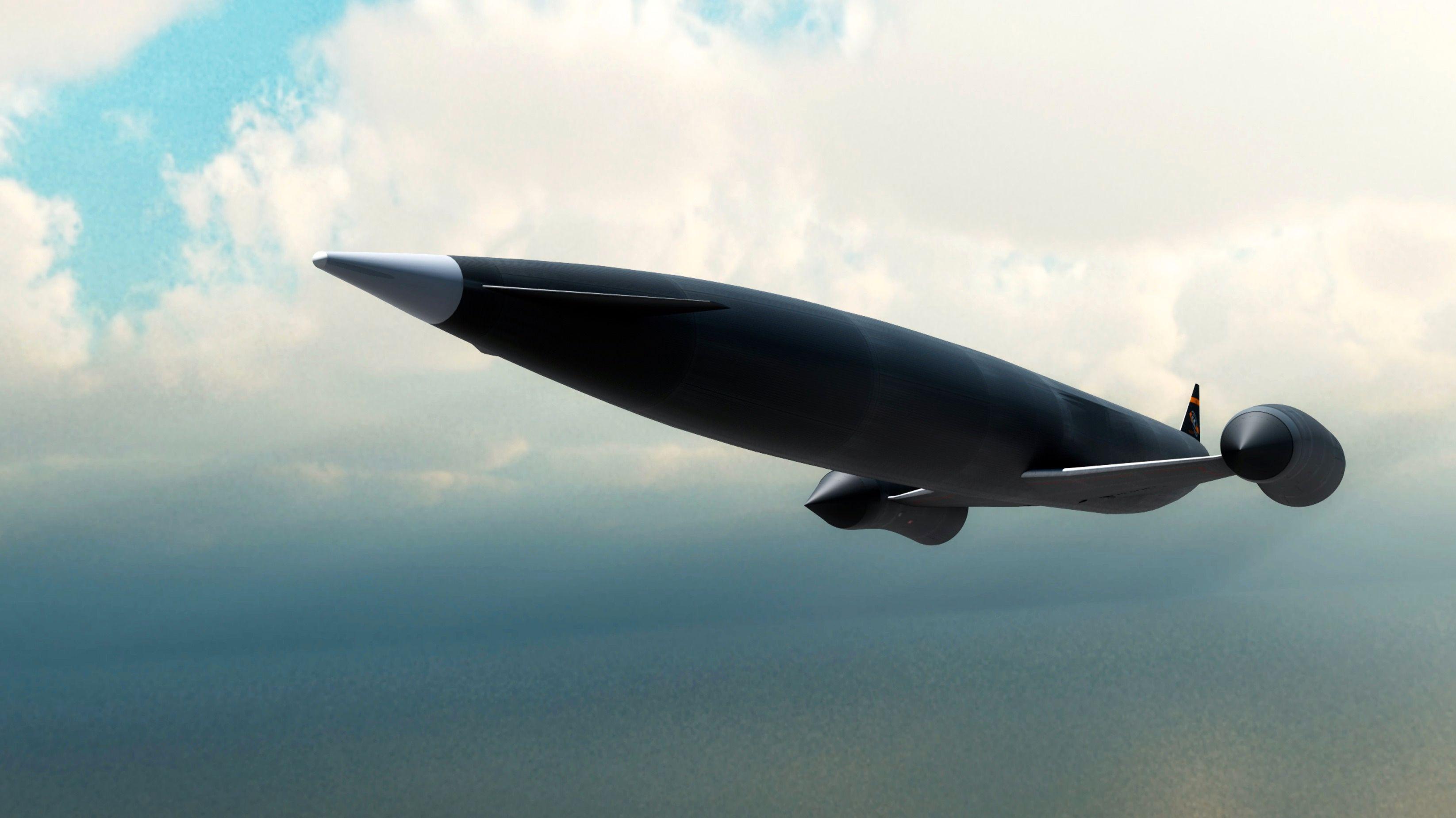 Dette flyet kan fly hvor som helst på 4 timer