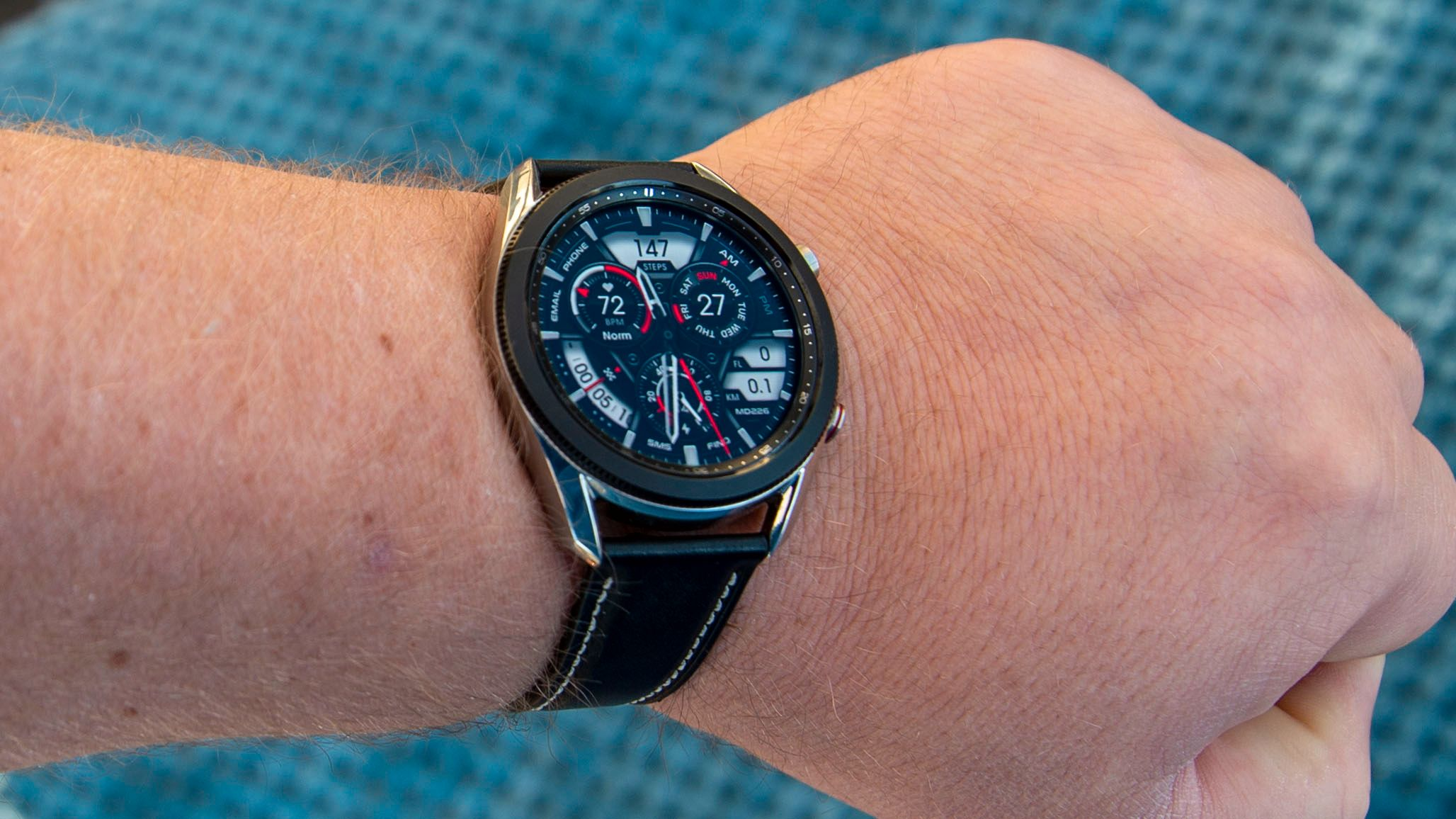 Galaxy Watch 3 er en god smartklokke.