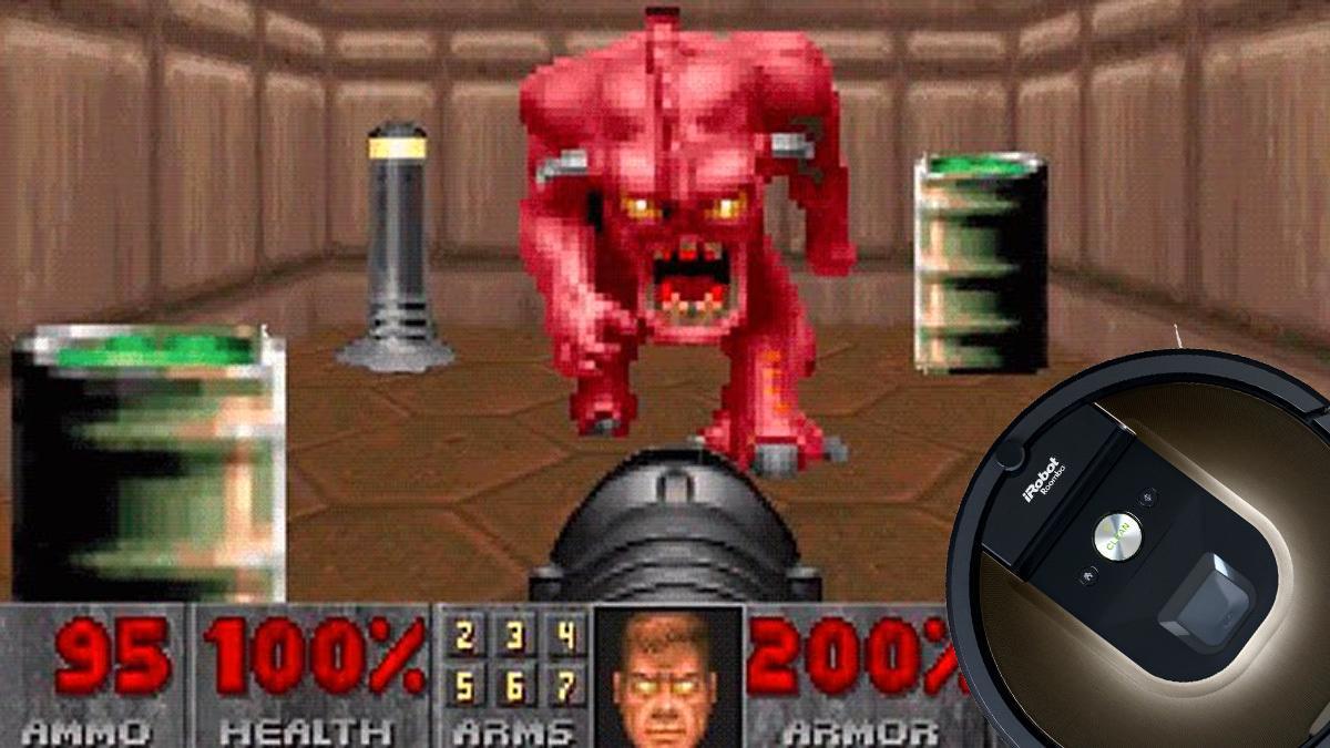 La støvsugeren lage Doom-kart av kåken