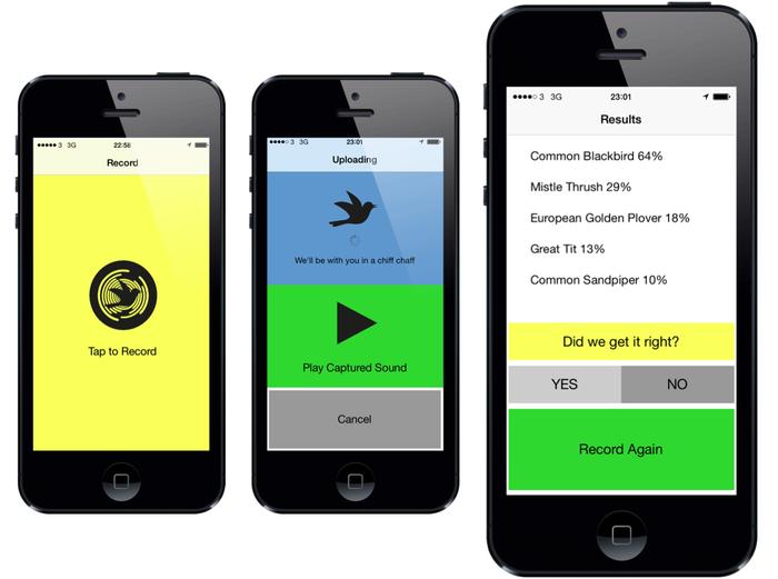 Fra den enkle prototypen av appen.Foto: Kickstarter