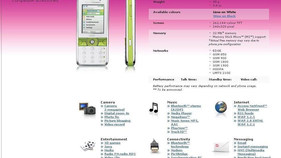 Sony Ericsson K660 lanseres i morgen