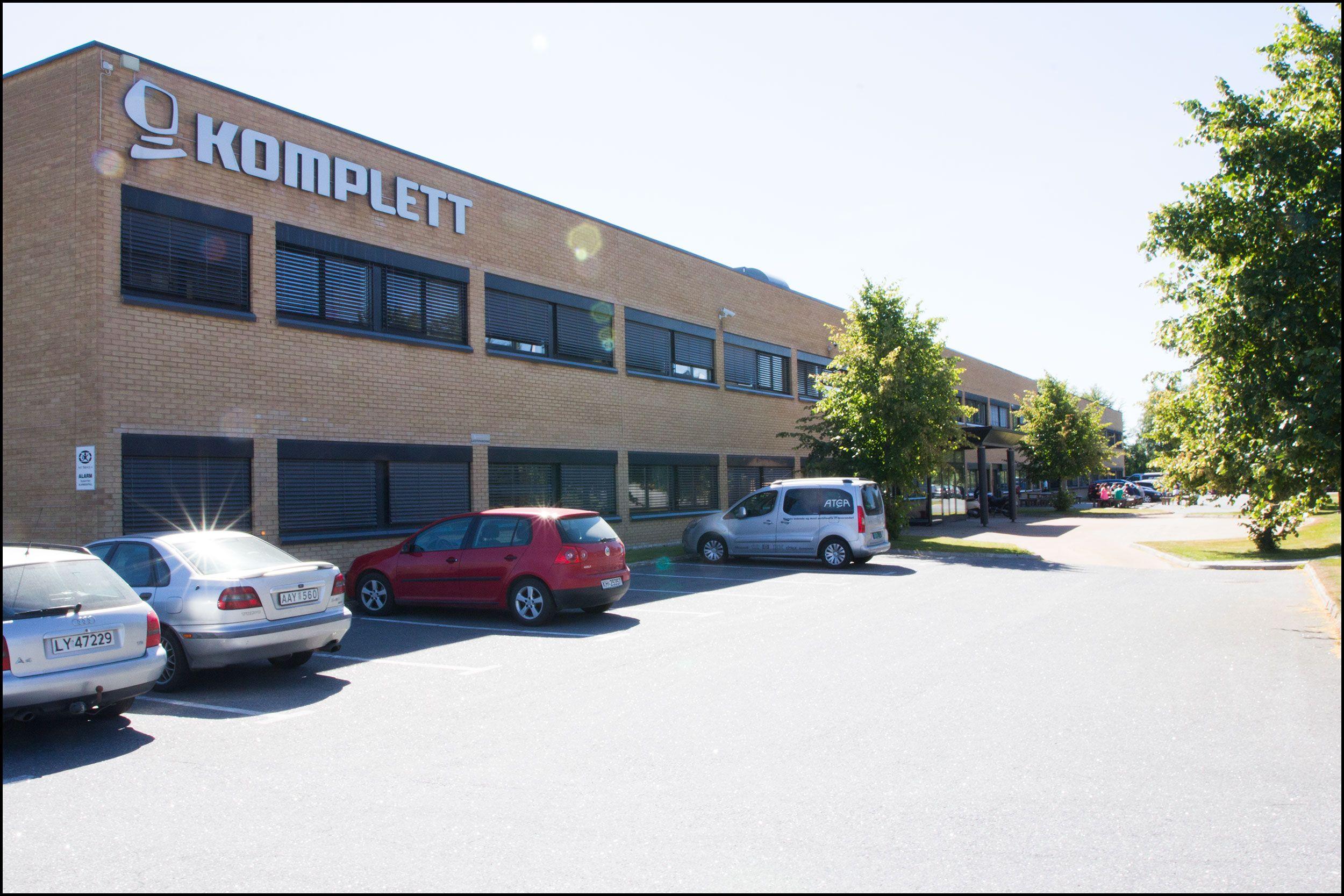 Kompletts hovedkontor i Sandefjord. Foto: Jørgen Elton Nilsen, Hardware.no