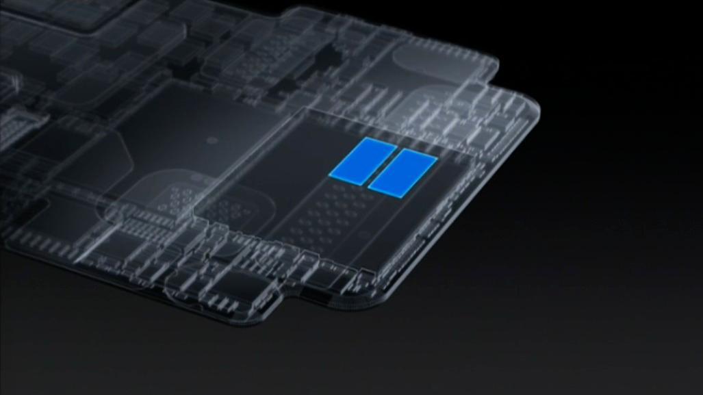 Den nye S2-prosessoren.