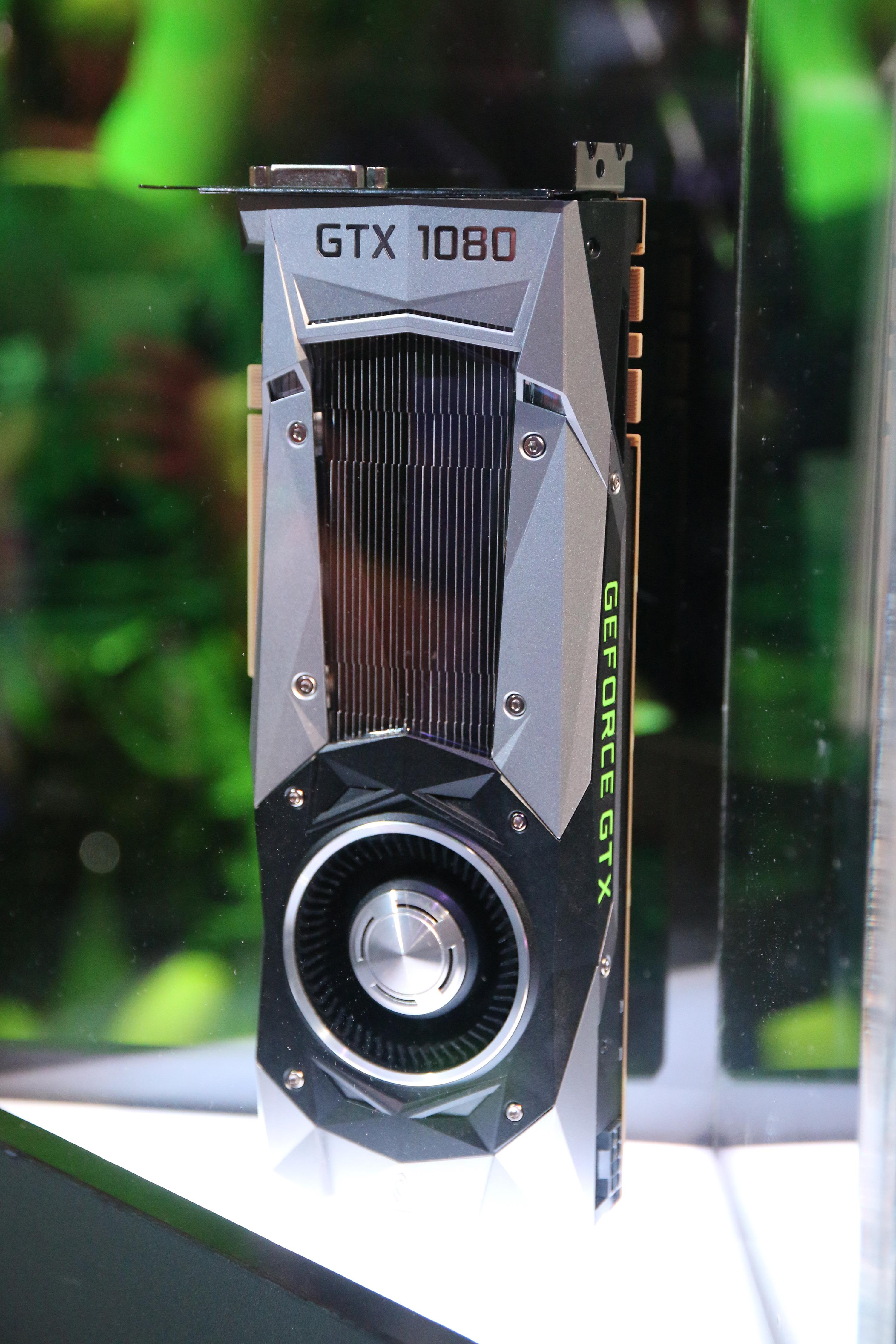 Slik ser Nvidias GTX 1080 Founders Edition ut...akkurat som lekkasjene vi har sett de siste ukene antydet.