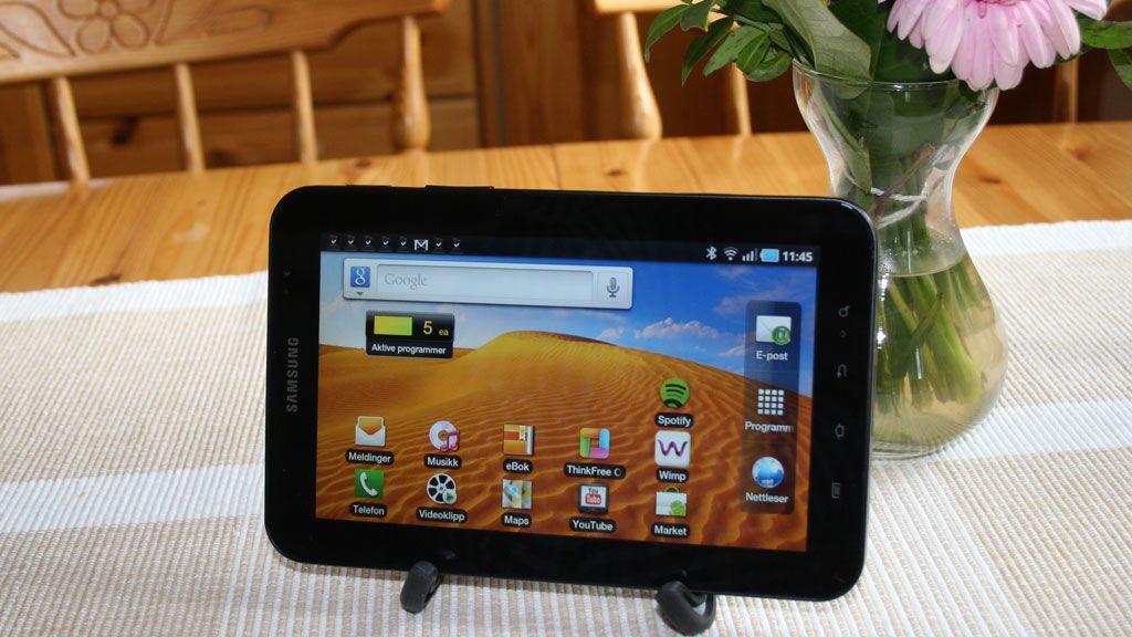 Samsung Galaxy Tab 10.1 Test Tek.no
