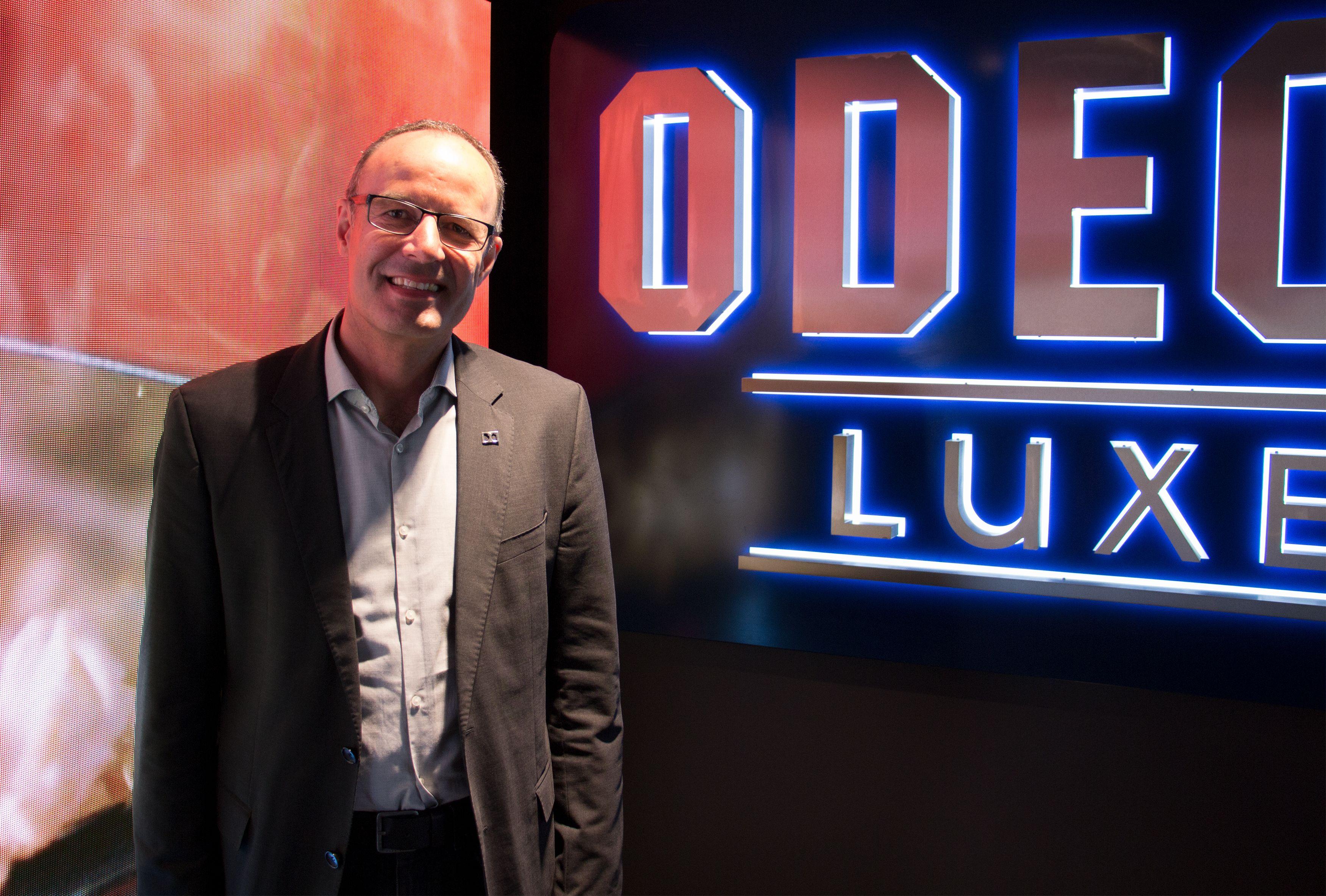 Stefan Tiefenbrunner fra Dolby Laboratories var på plass for å sjekke at de 13 salene med Dolby Atmos-lyd gav publikum gåsehud og full innlevelse.