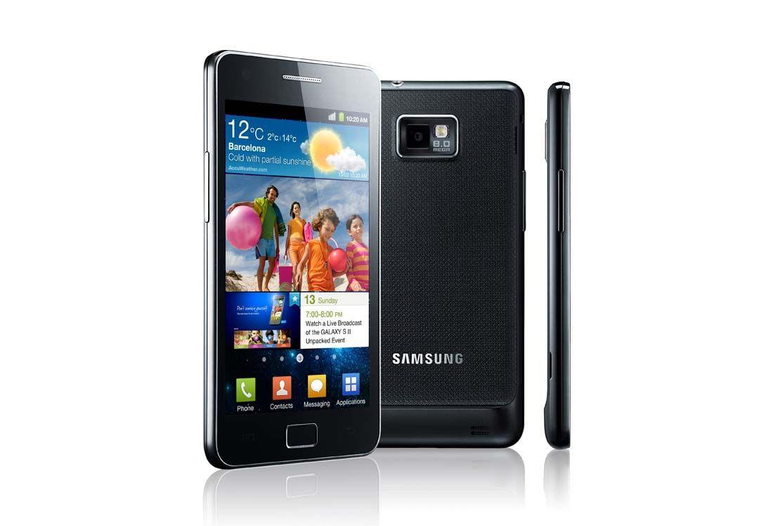 Eksempel på smarttelefon - Samsung Galaxy S II