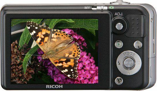 2,7 tommers LCD-skjerm