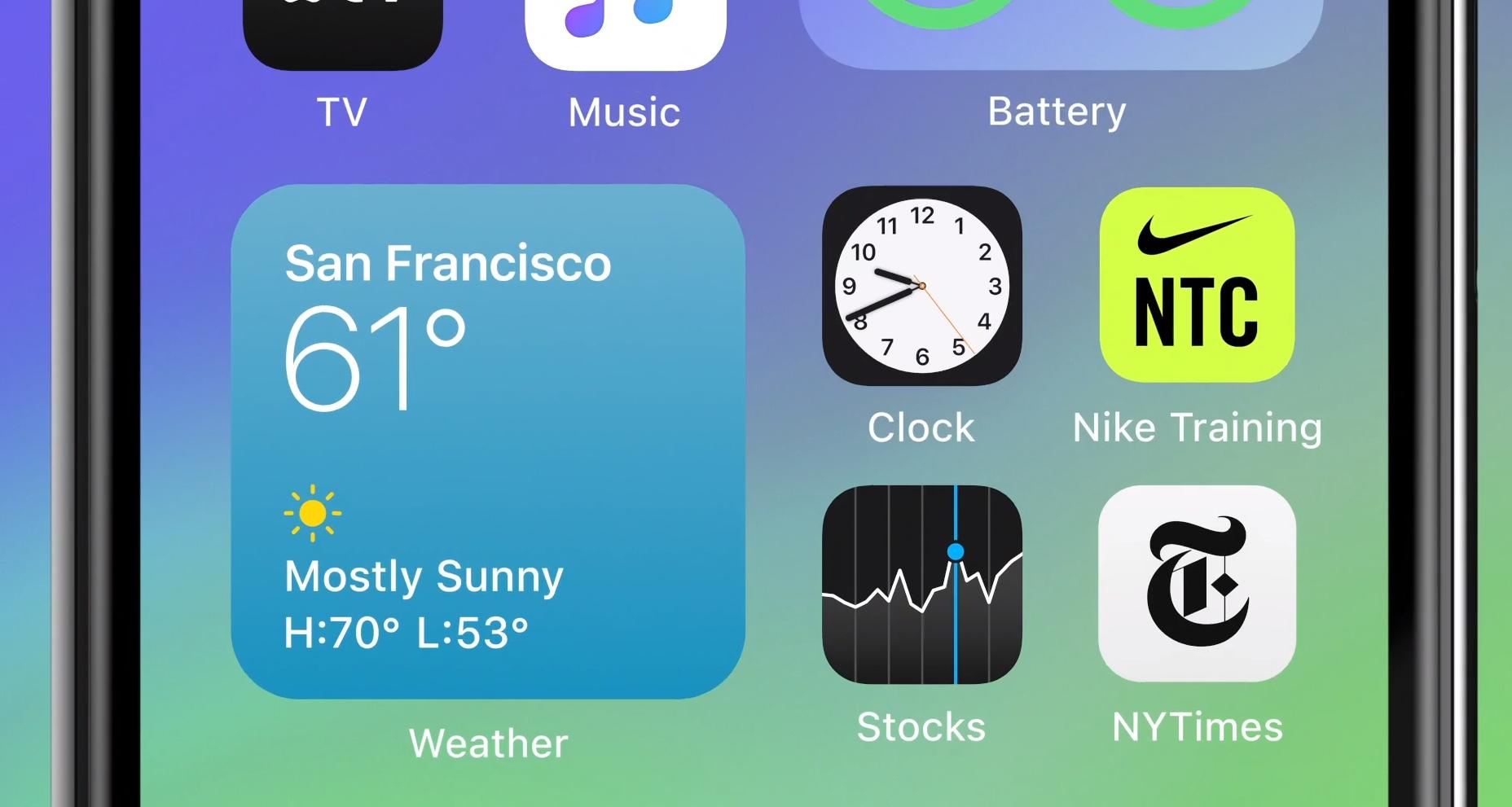 iPhone får helt ny hjemmeskjerm
