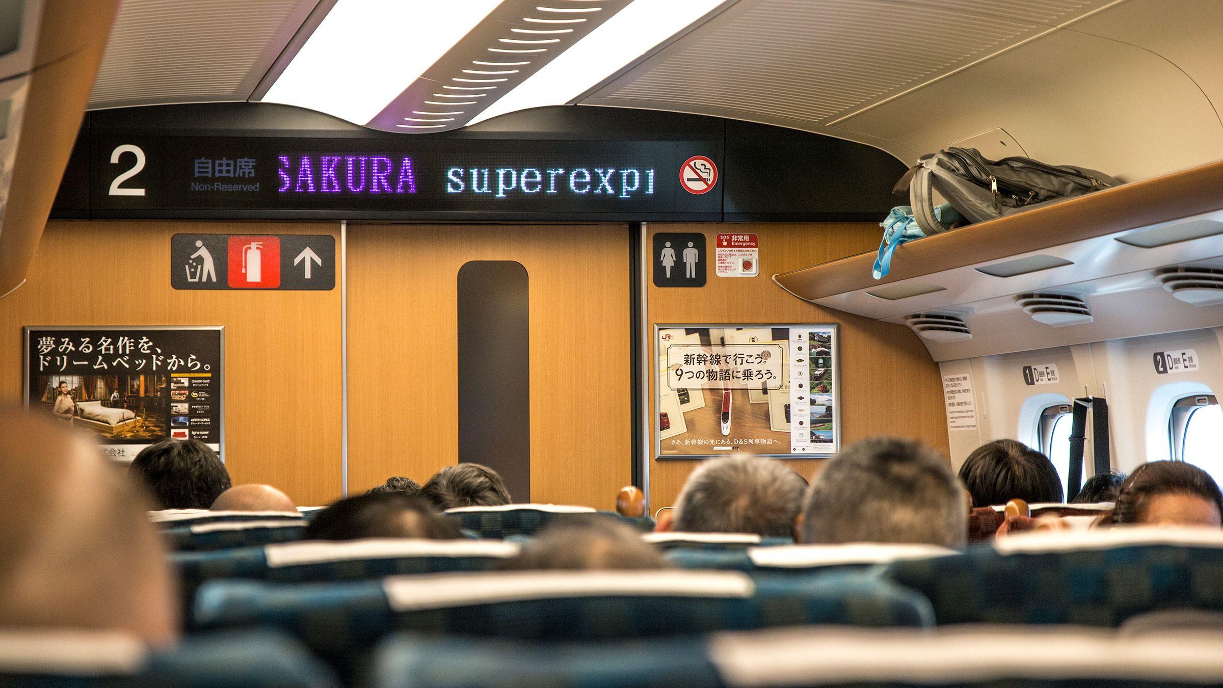 Interiøret i de nyere togsettene har fått seg en oppfriskning – uten at det dermed sagt er særlig dystert i de eldre vognene.Foto: Varg Aamo, Hardware.no