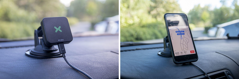 Det er i bilen Xvida-komboen har vært mest nyttig.