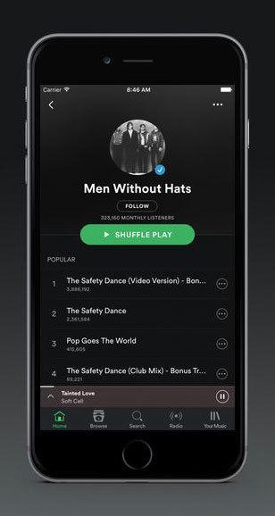 Spotify leder fortsatt musikkstrømmekrigen.