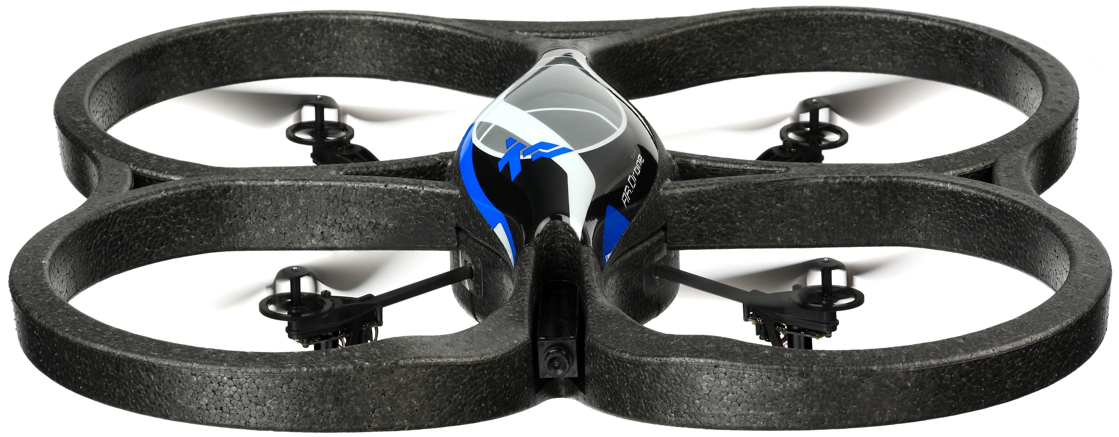 Slik ser AR.Drone ut klar til innebruk.