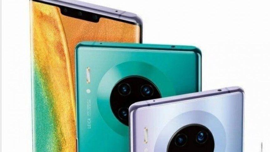 Lekket reklameplakat avslører Huawei Mate 30 Pro