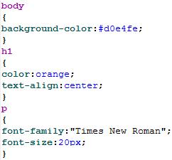 En enkelt CSS-fil kontrollerer bakgrunnsfarge, overskrifter og fonter for hele nettstedet. Tidligere gjorde man dette i hver eneste HTML-side.