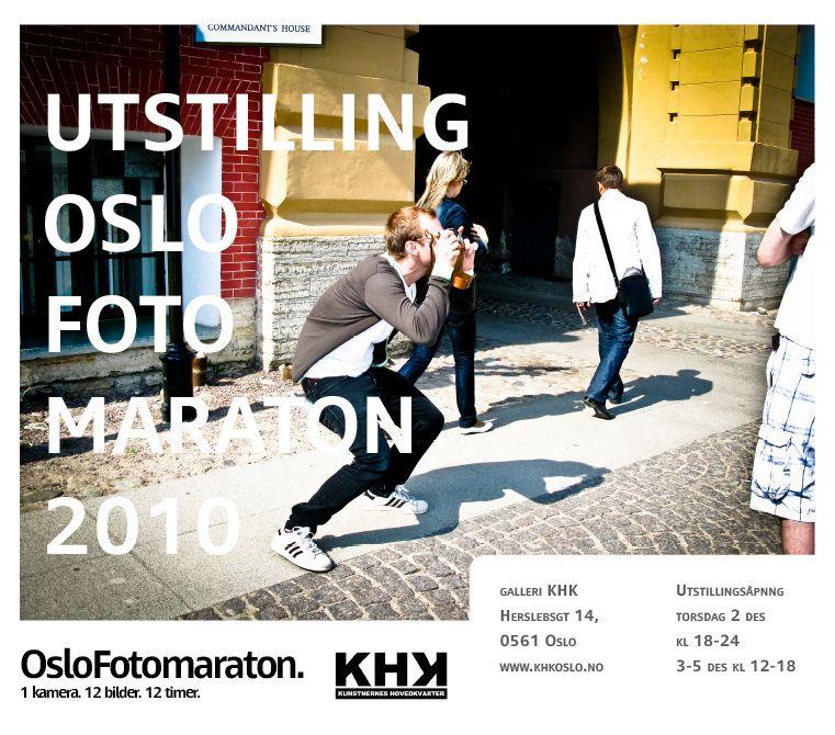 Invitasjon til åpning av utstillingen.