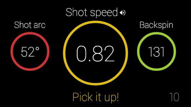 94Fifty Basketball-appen analyserer skuddene dine.