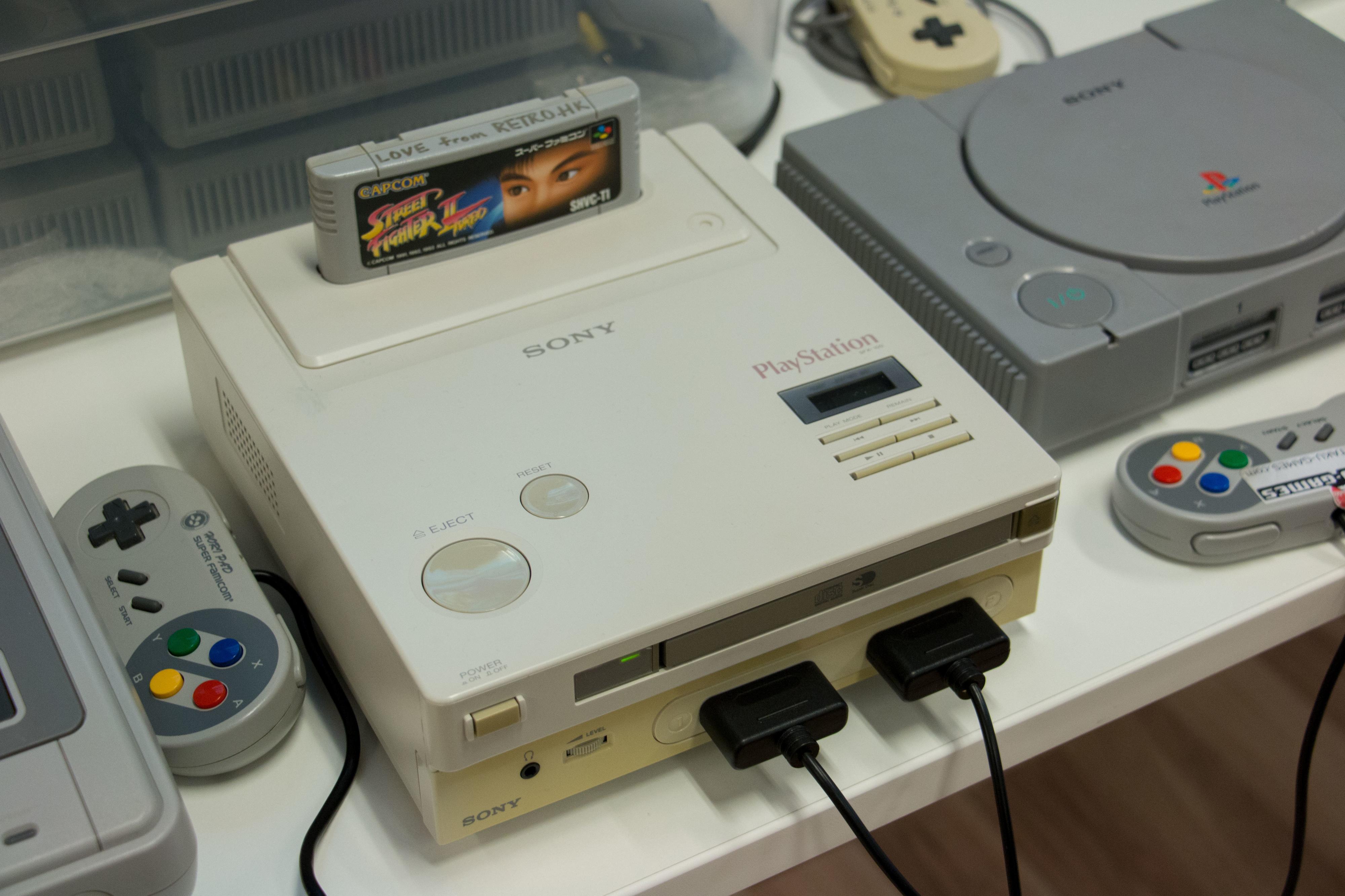 Start- og reset-knappen fikk leve videre i PlayStation.