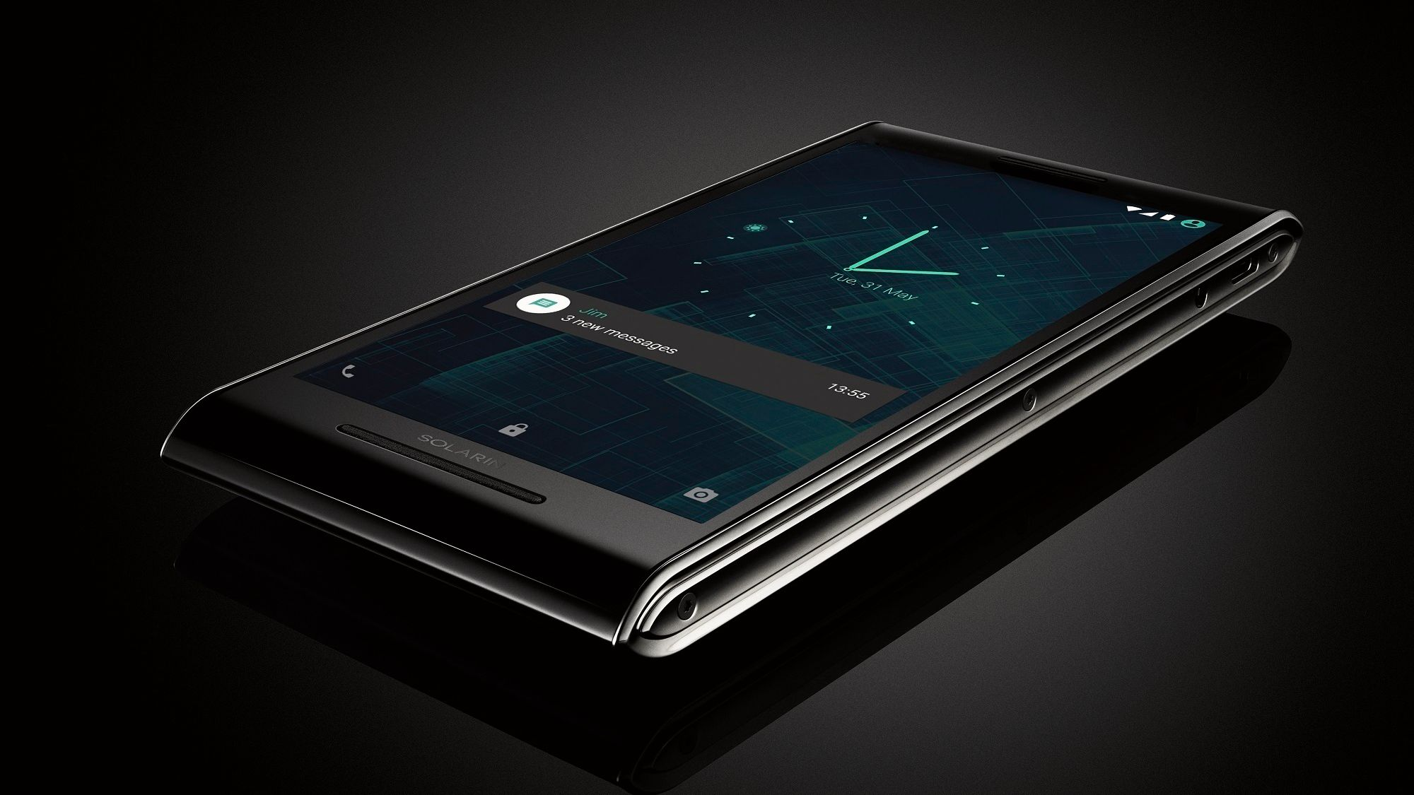 For 117 000 kroner kan du få den supersikre Android-mobilen Solarin