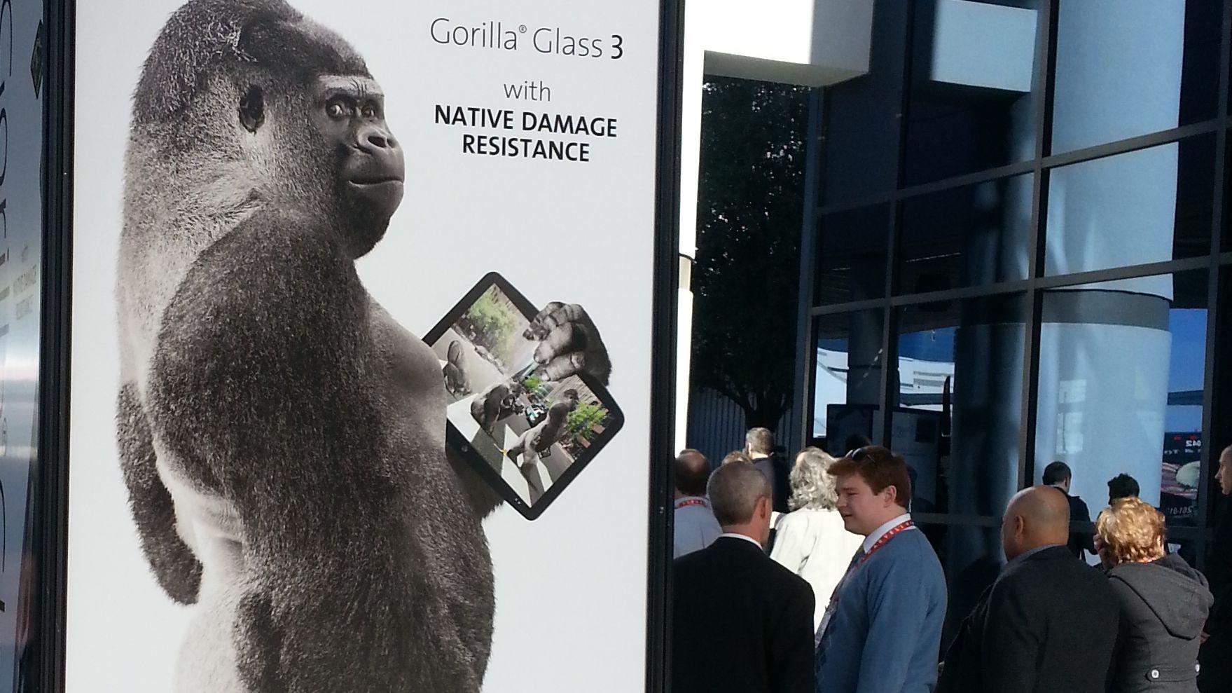 Enda sterkere Gorilla-glass