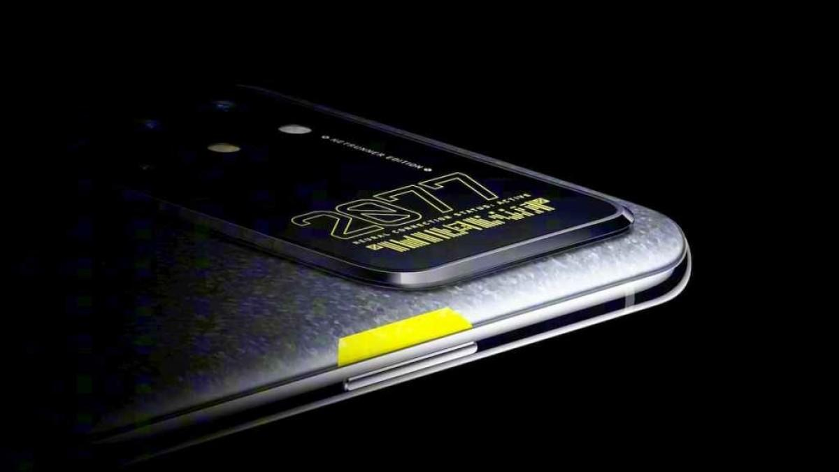 OnePlus lager Cyberpunk-mobil