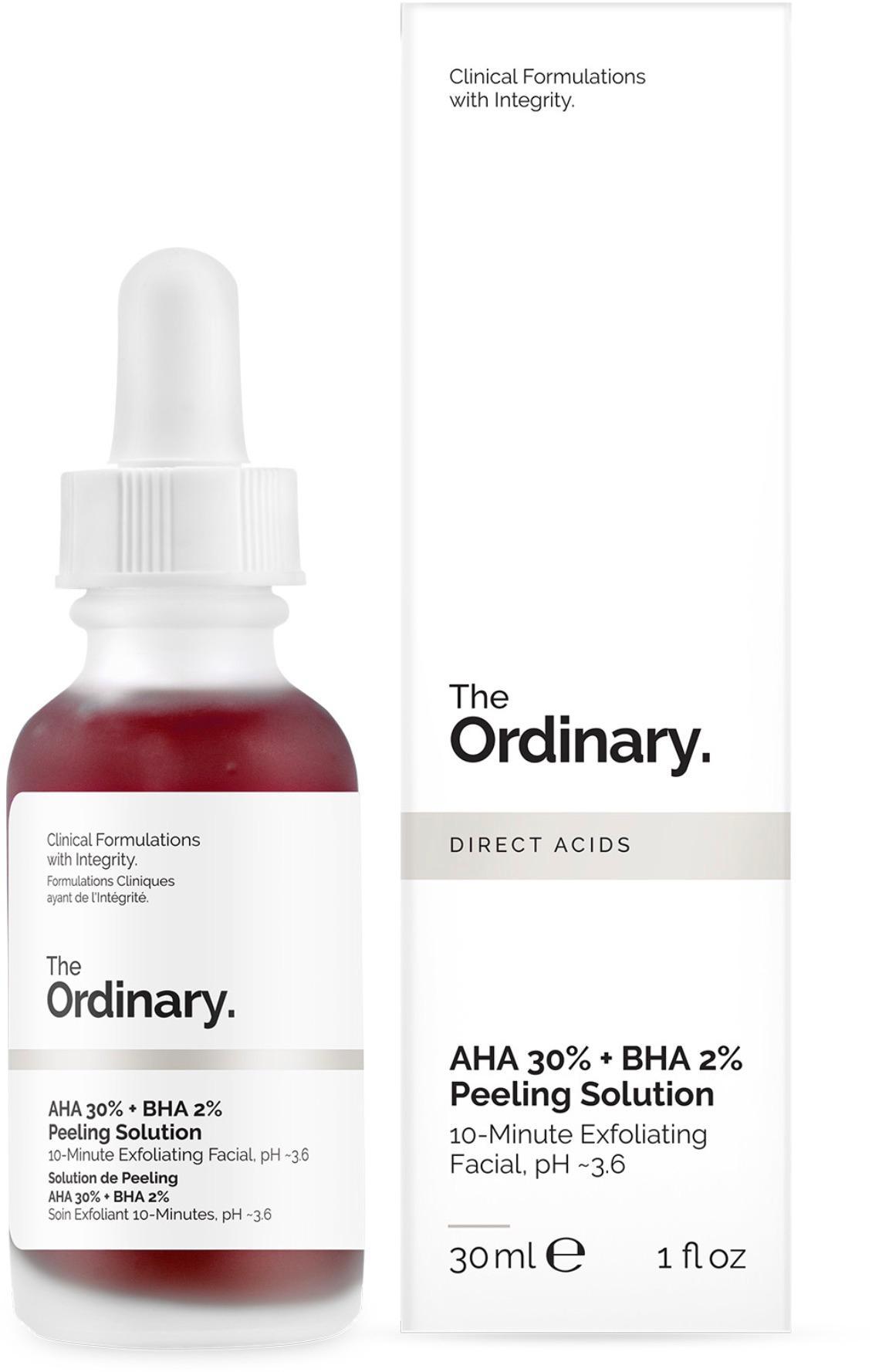 AHA + BHA, The Ordinary