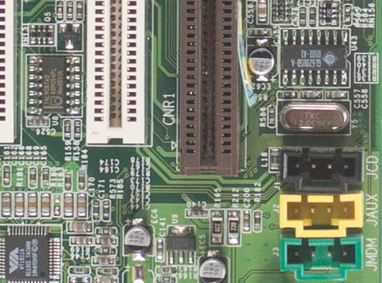 Utsnitt av hovedkort, f5,6 @ ISO 400 (RAW) Samsung NX300.