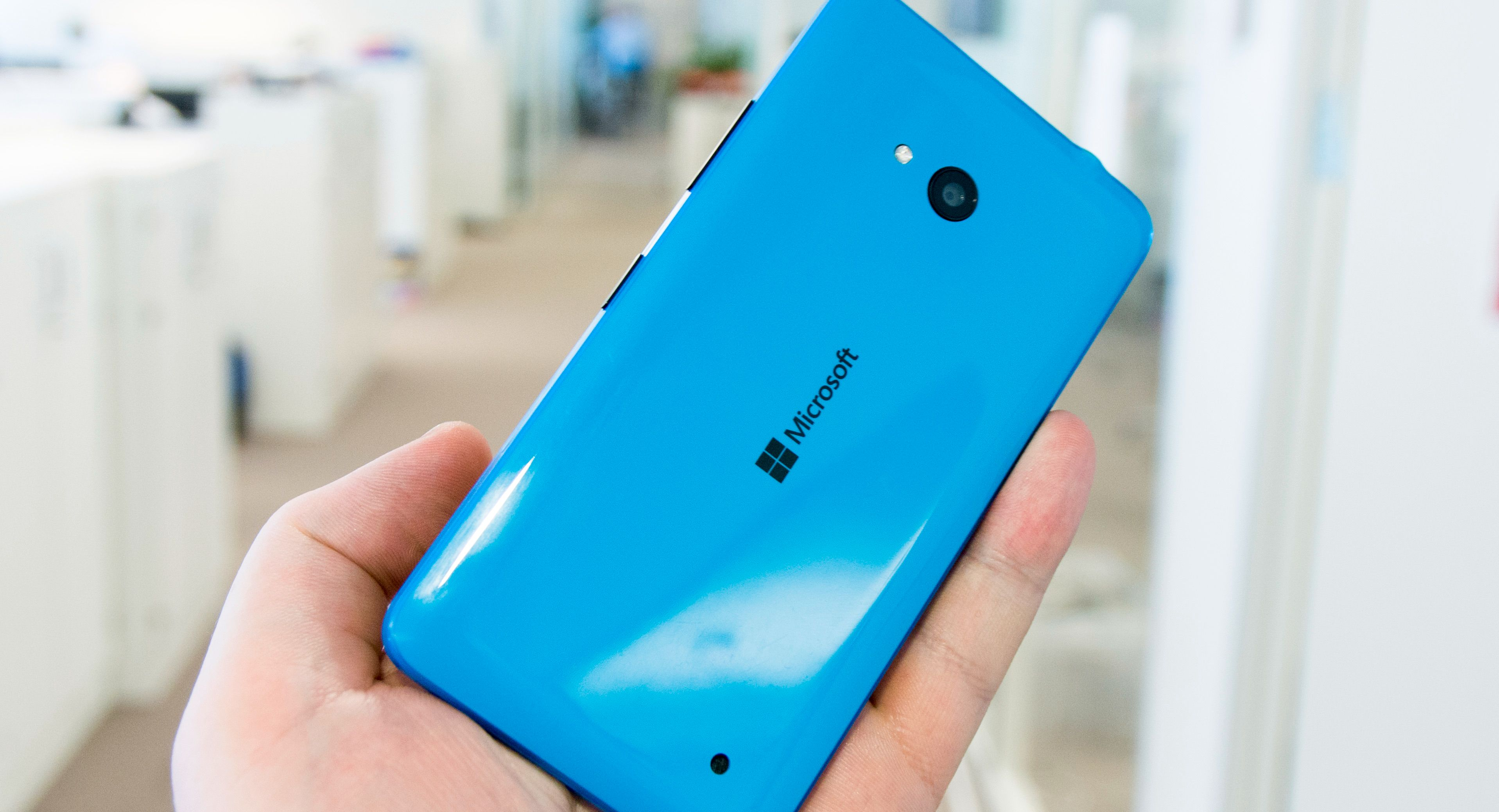 Lumia 640. Foto: Finn Jarle Kvalheim, Tek.no