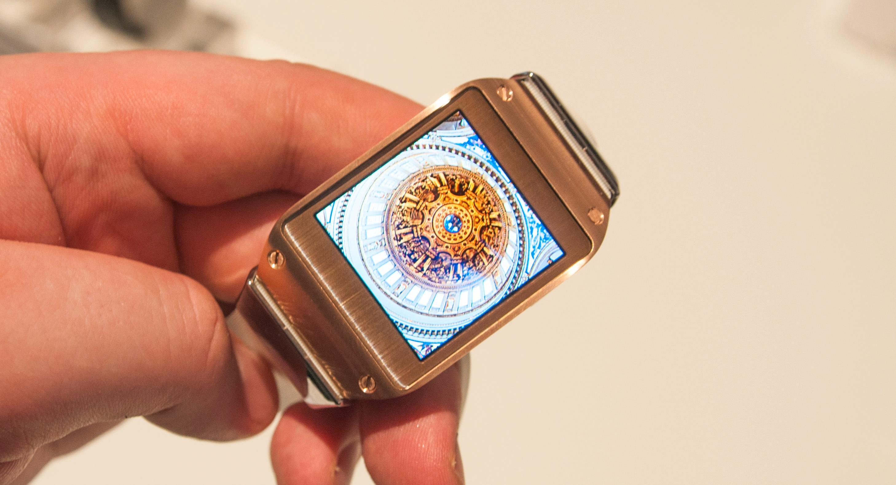 Samsung Galaxy Gear.Foto: Finn Jarle Kvalheim, Amobil.no