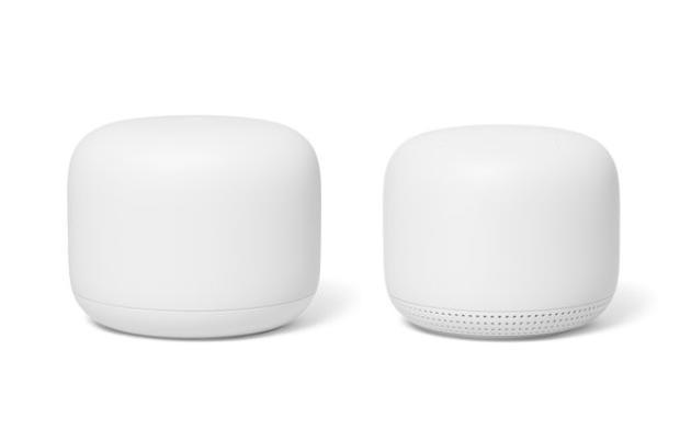 Hovedruteren og mesh-punktene er nå ulike enheter. Sistnevnte inkluderer nå også en høyttaler og mikrofoner.