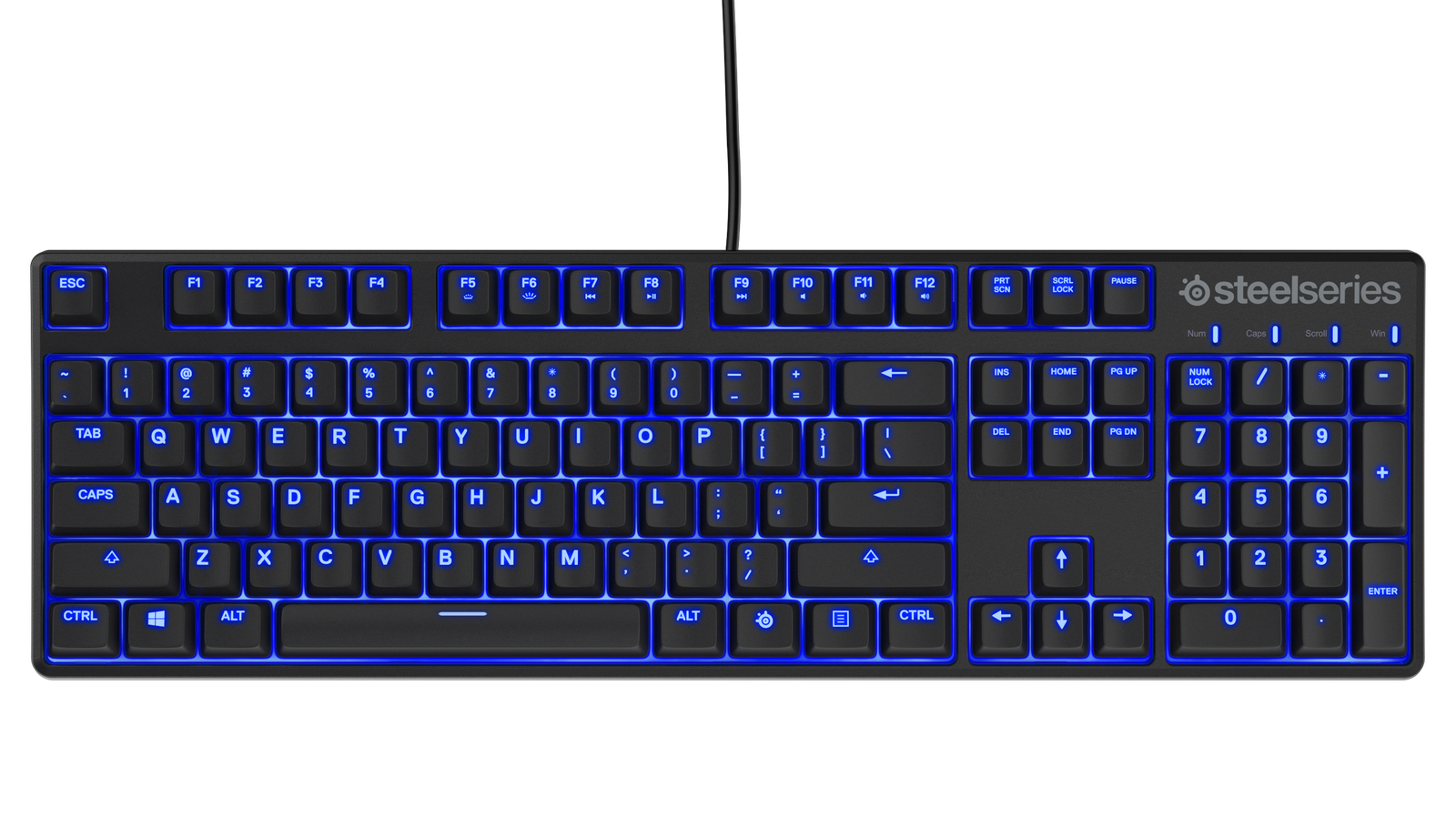 Slik ser SteelSeries «billige» mekanisk tastatur ut Tek.no