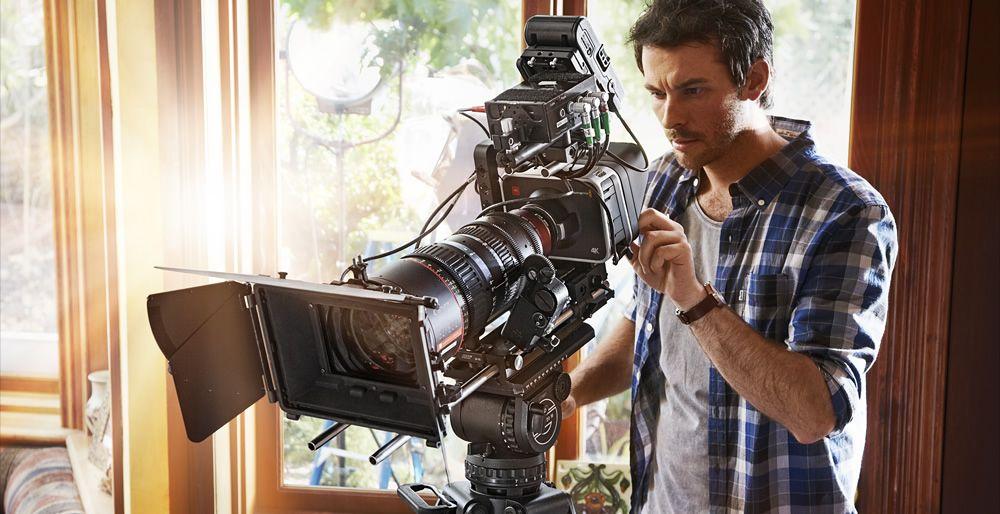 Black Magic Production Camera kan filme i full kinooppløsning, 4K.Foto: Blackmagicdesign.com
