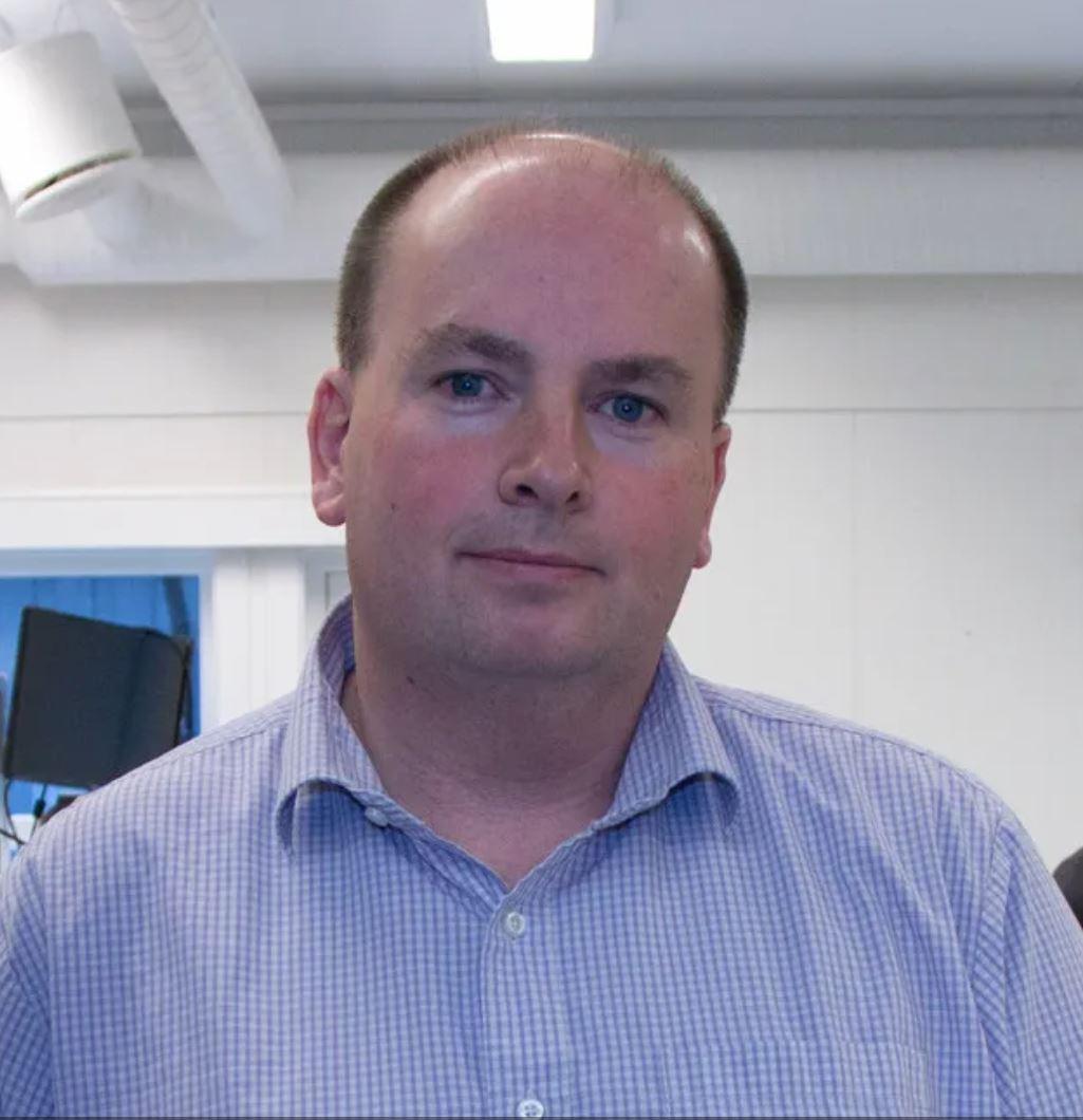 Tron Atle Løvig, daglig leder i Multicom.