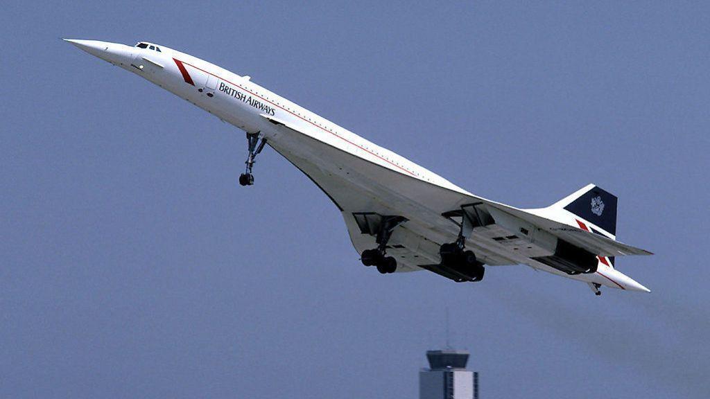FORTIDSFLY: Konsepttegningene av Concorde 2.0 minner ikke rent lite om originale Concorde.