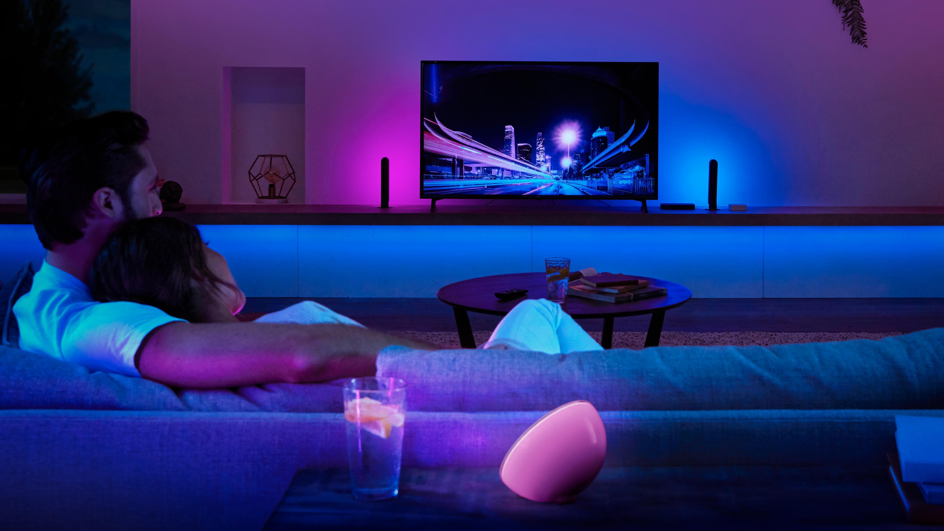 Philips' nye Hue-boks kan få lysene dine til å blinke i takt med TV-en