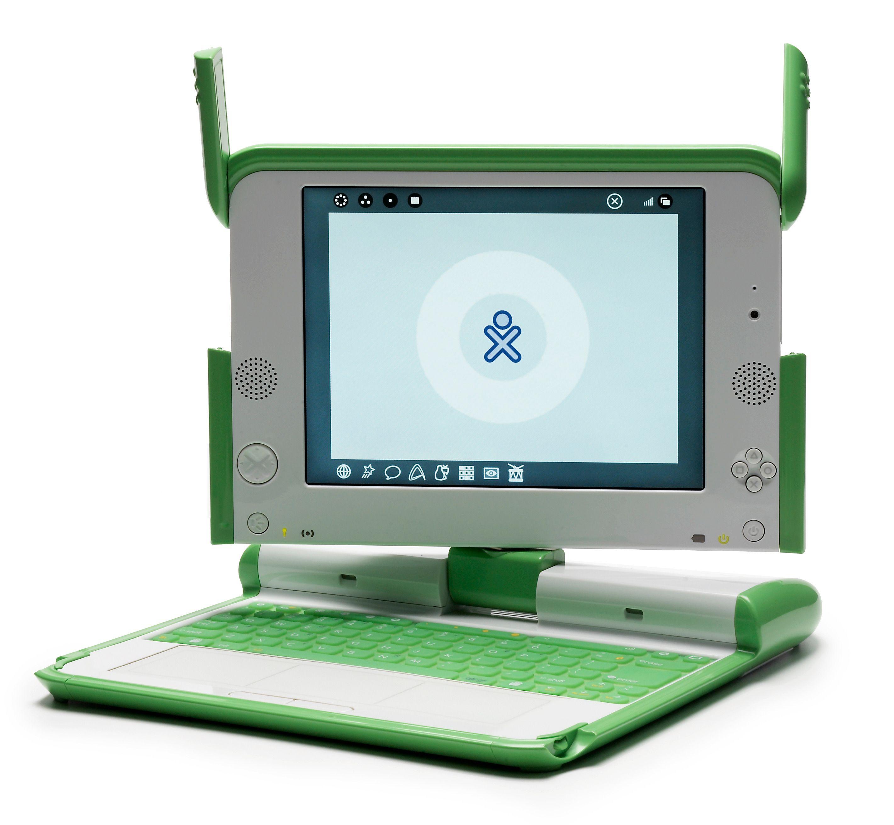 XO-1-datamaskinene i OLPC-prosjektet er kanskje de mest kjente dingsene som benytter seg av mesh-nettverk. Foto: Mike McGregor (CCBY2.5)
