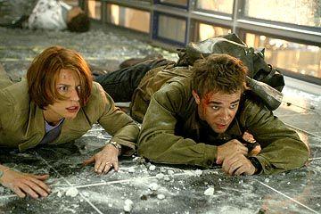 "John Connor og Kate Brewster i ""Terminator 3 - Rise Of The Machines""."