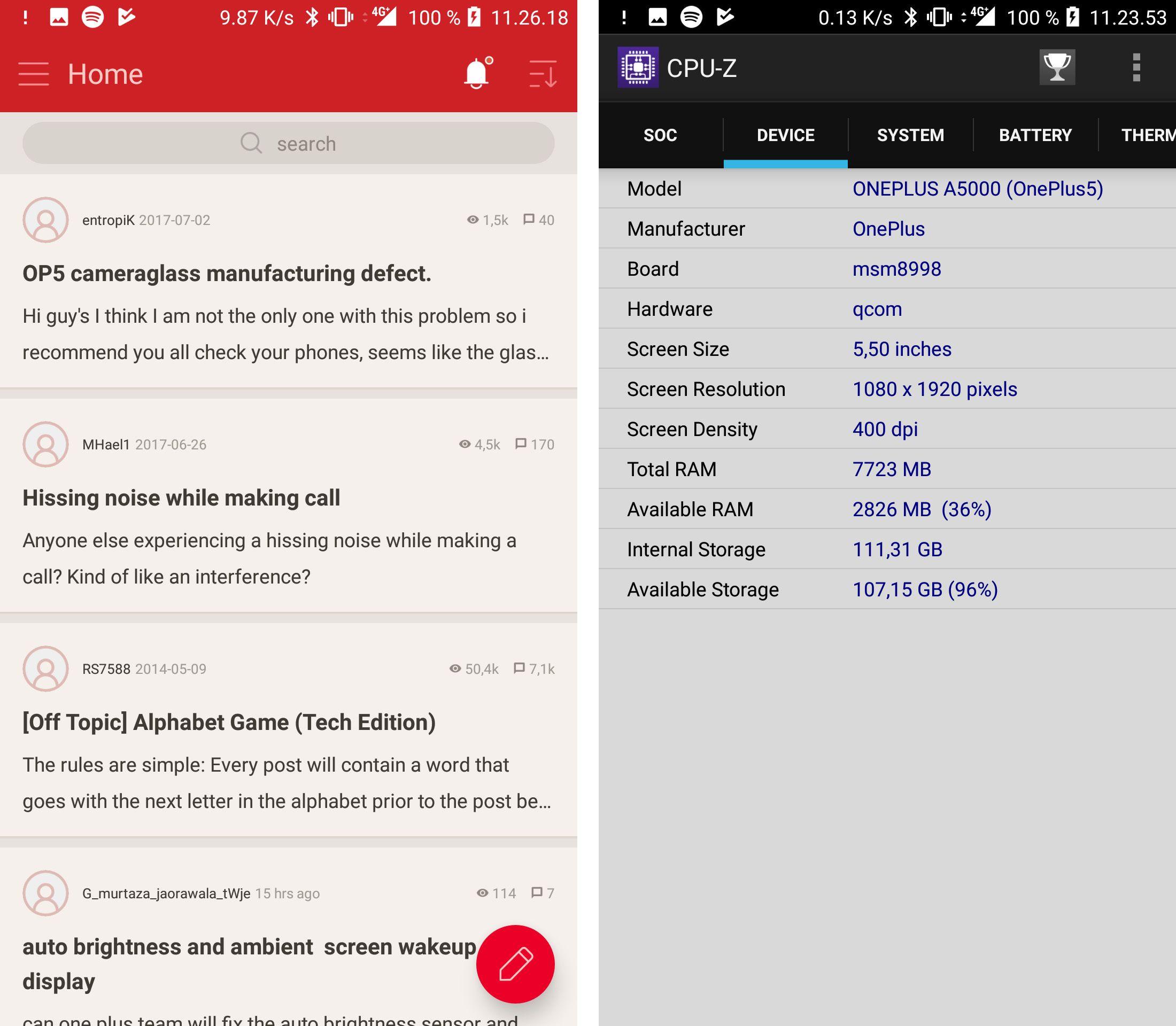 På noen områder er det lett å legge merke til at dette er en entusiasttelefon. En egen app for samfunnet rundt OnePlus følger med, og i vår testmodell er det hele 8 gigabyte RAM.
