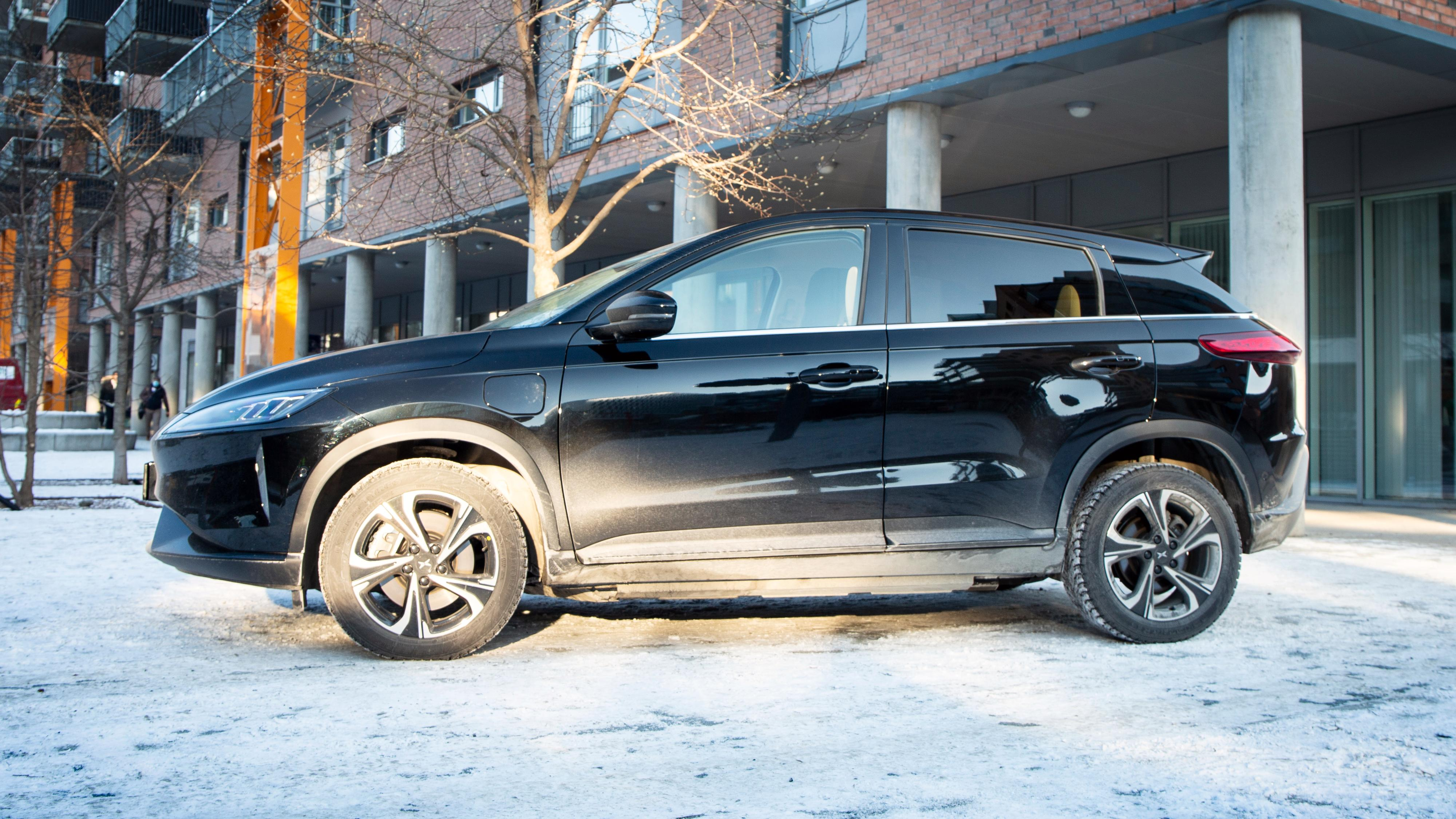 Xpeng G3 er en kompakt-SUV på 4,45 meter i lengde.