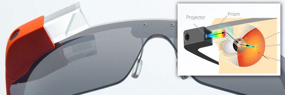 Google Glass drives av en tokjernet systembrikke fra Texas Instruments. TI har siden skiftet fokus vekk fra mobile systembrikker.Foto: Google / Martin Missfeldt