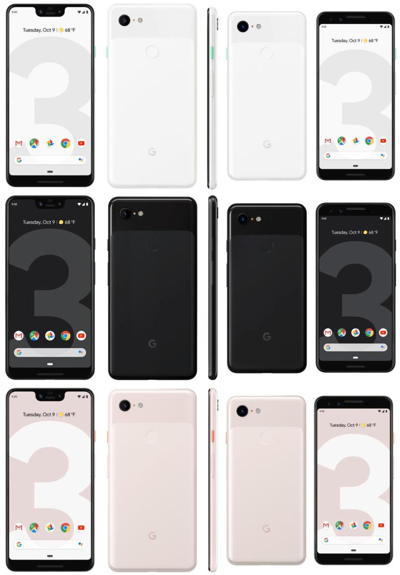 Google Pixel 3 og Pixel 3 XL ser ut til å være bombesikre at lanseres i ettermiddag.