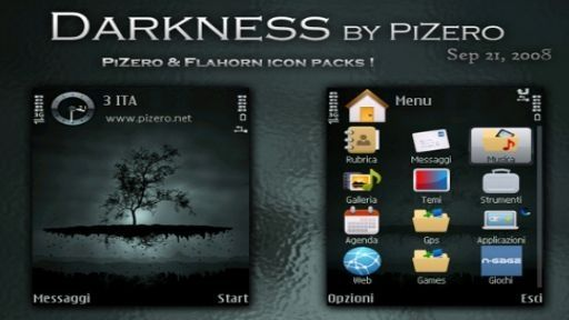 Darkness mobiltema