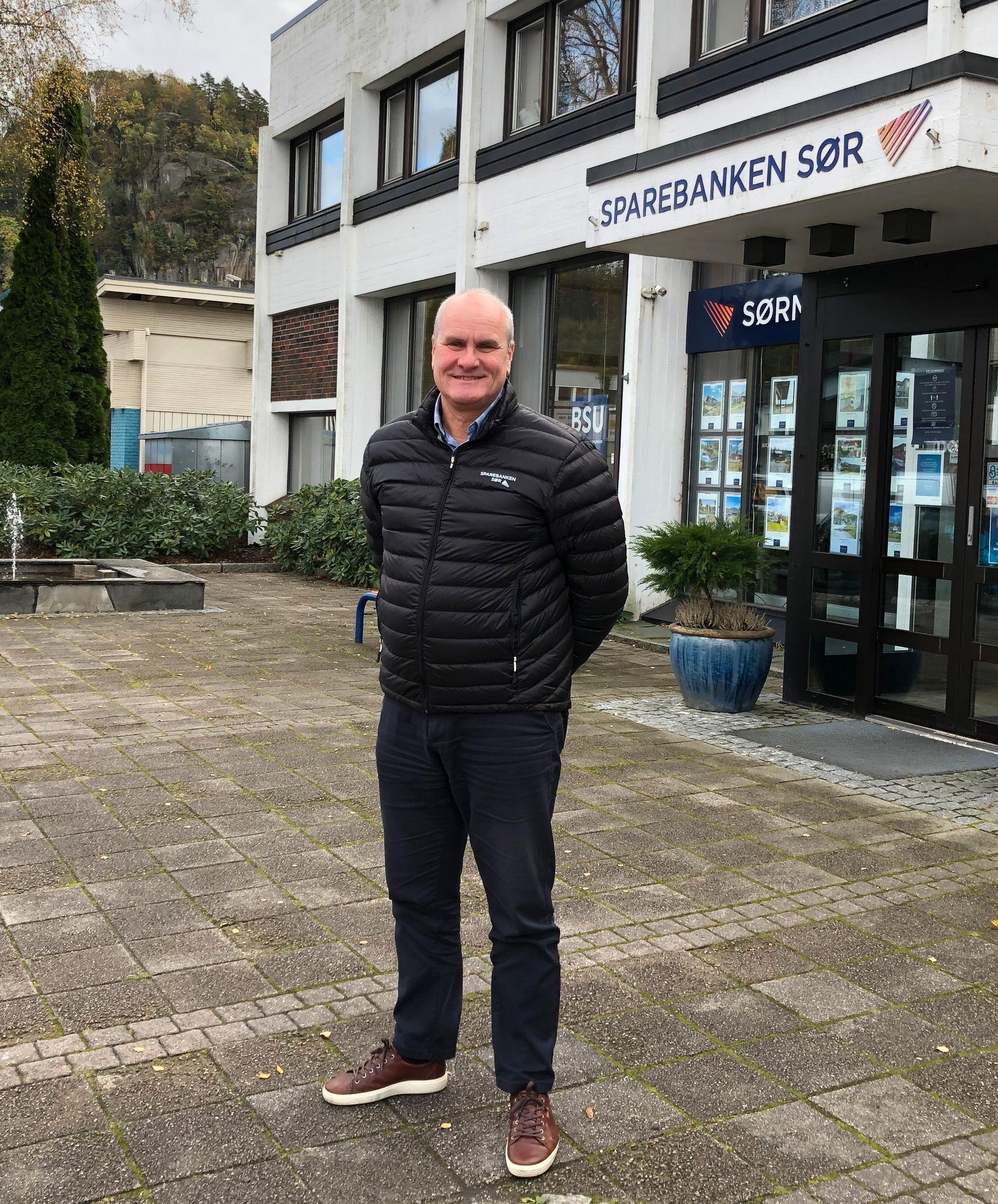 Ivar Lindal, Regional Bank Manager for Sparebanken Sør.