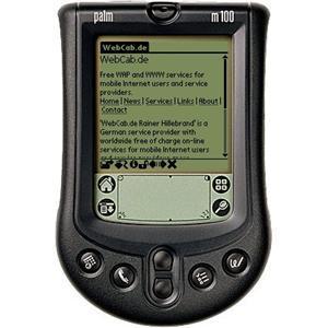 En Palm M100. Dette var en av folkemodellene fra Palm, og del av en lavprisserie som fikk stor utbredelse.