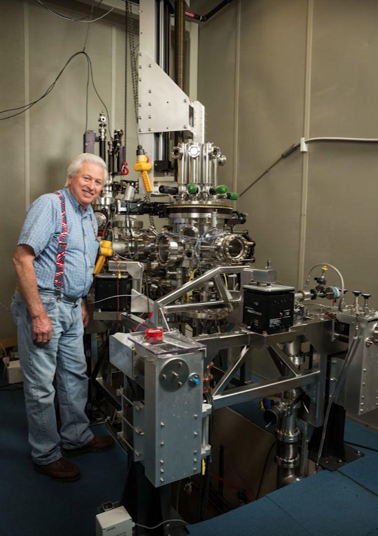 Det var en innretning av denne typen, et «scanning tunneling-mikrosop», som ble brukt i eksperimentet.