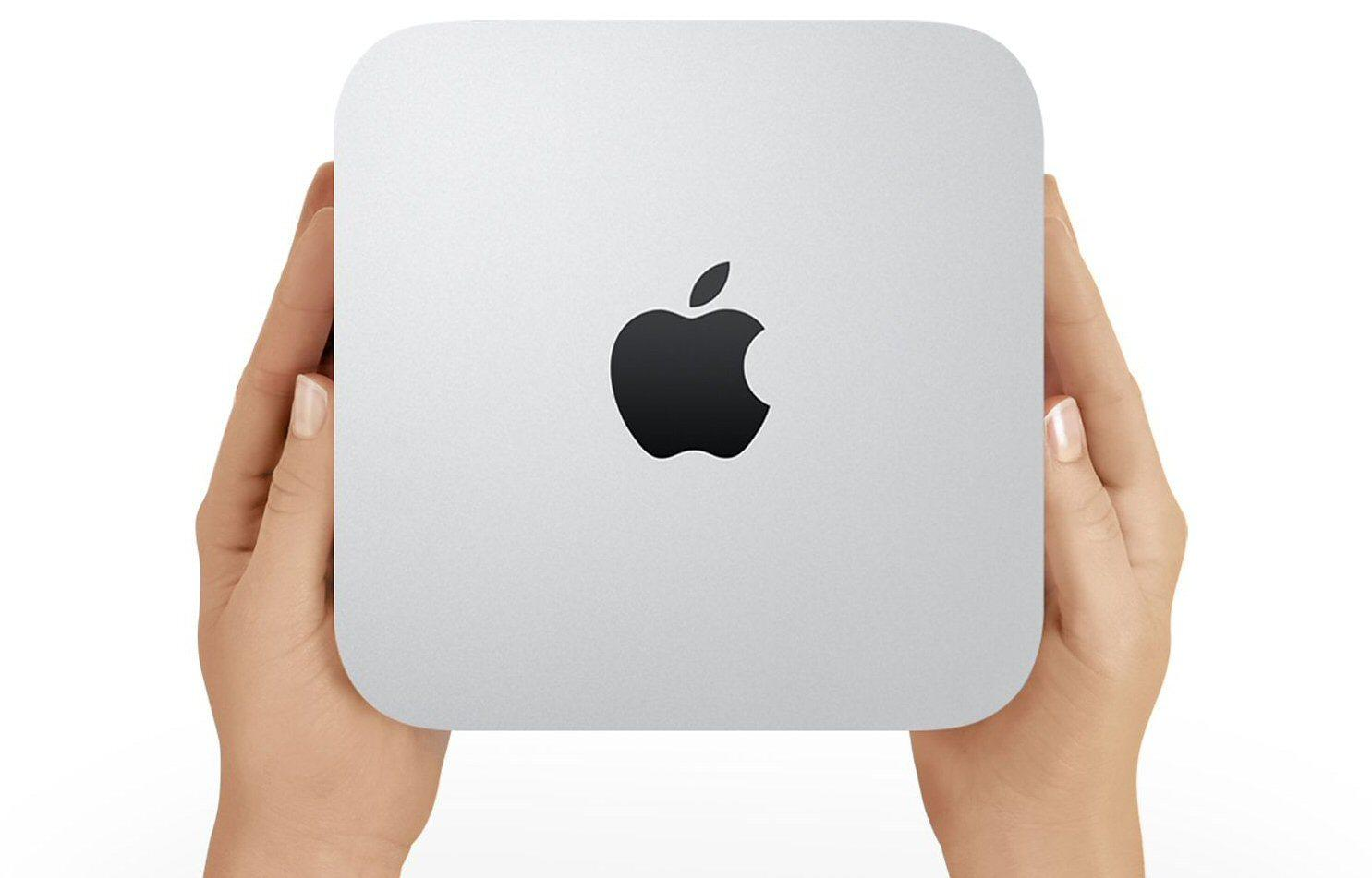 Joda, vi anbefaler faktisk Apple Mac mini. Men ikke bruk mer penger enn du må på den.Foto: Apple