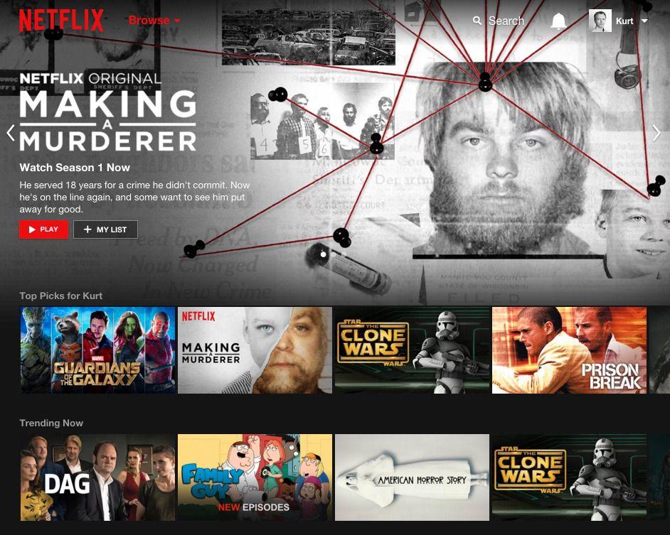Utvalget i norske Netflix er mye dårligere enn for eksempel den amerikanske.