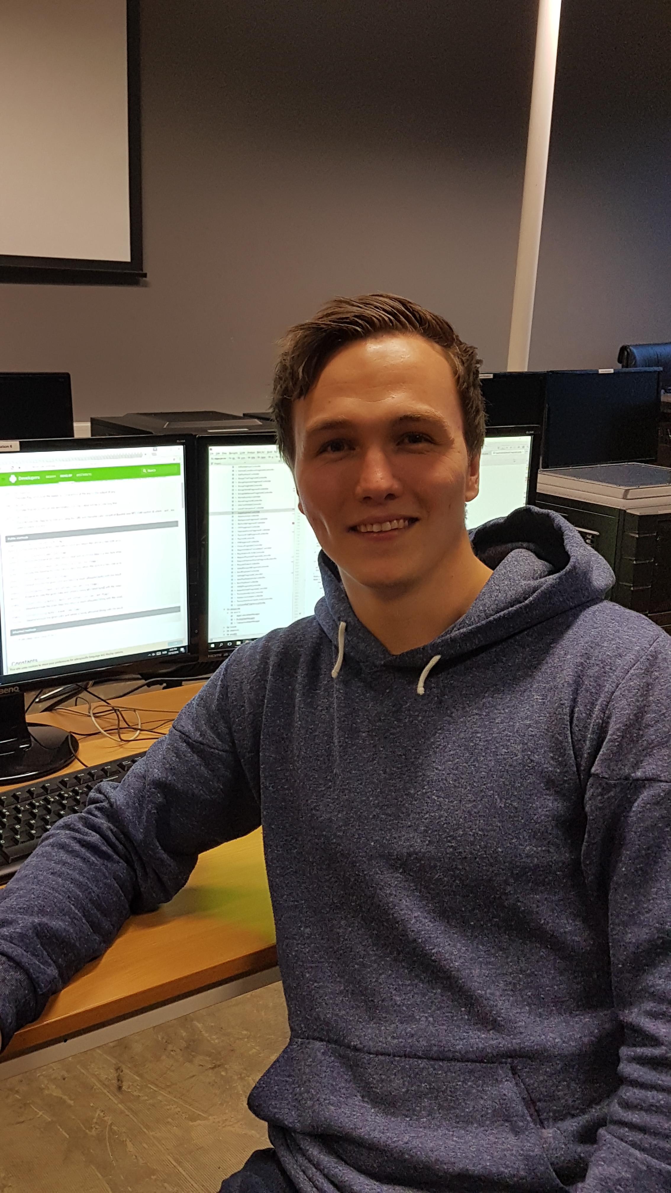 Lars-Petter Schøyen (23). Bilde: privat