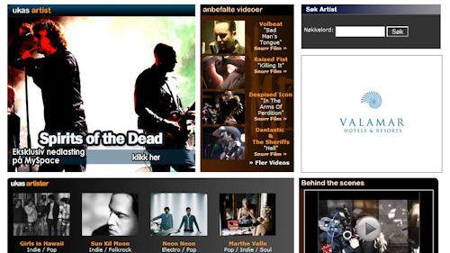 MySpace-musikk lansert
