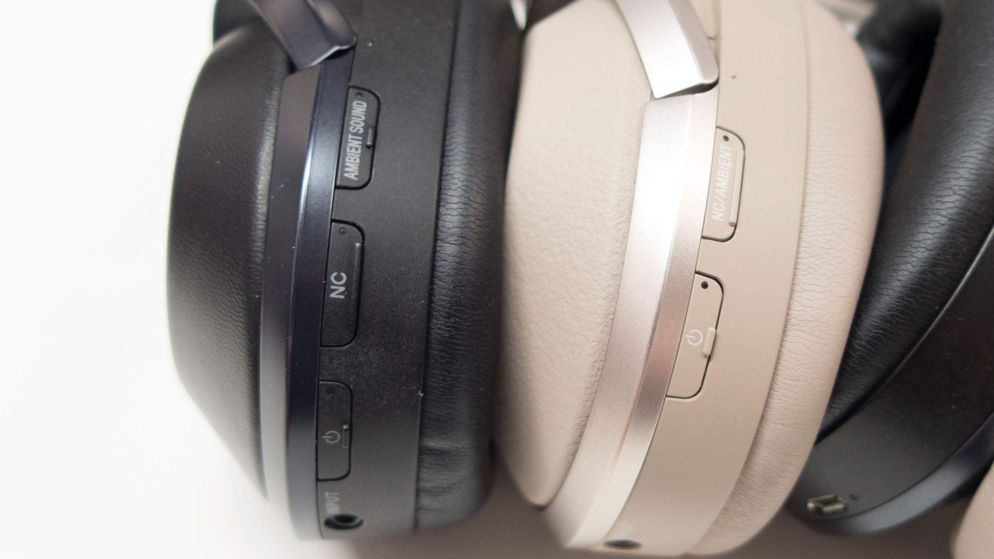 En av de få forskjellene på MDR-1000X og den nye WH-1000XM2 er antall knapper.